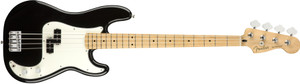 Fender Player Series P Bass 4-String Precision Bass Guitar with Maple Fingerboard-black