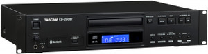 Tascam CD200BT CD Player with Bluetooth