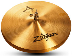 """Zildjian A Zildjian New Beat Hi-hat pair -13"""""""