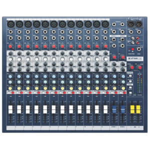 Soundcraft EPM12 12-Channel Mixer with Rack Ears