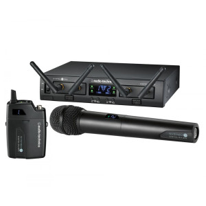 Audio Technica ATW1312 System 10 PRO Series Dual Lav/Handheld Digital Wireless