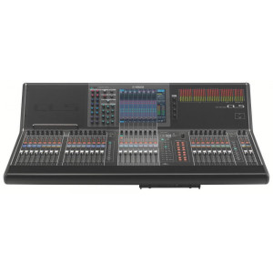 Yamaha CL5 72+8 Digital Mixing Console with Dante Networking and Built-In Meter Bridge