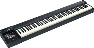 RolandA88 88-Key MIDI Keyboard Controller in Black