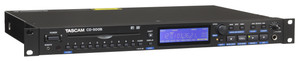 Tascam CD500B Single-Rackspace CD Player (Balanced Outputs)