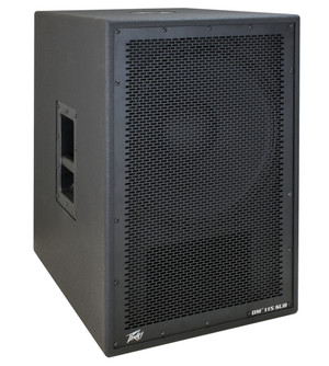 """PeaveyDM115SUBDark Matter Series 15"""" Powered Subwoofer with Onboard DSP"""