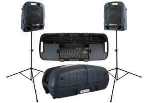 PeaveyEscort 5000 2x 250W Portable PA with 8-Channel Mixer