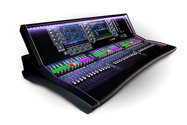 """Allen & Heath DLIVE-S7000  dLive S Class 36 Fader Surface, Dual 12"""" Touchscreens"""