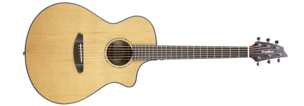 Breedlove PURSUIT-CONCERT-2  Pursuit Concert CE Acoustic Guitar with Red Cedar Top and Mahogany Back/Sides