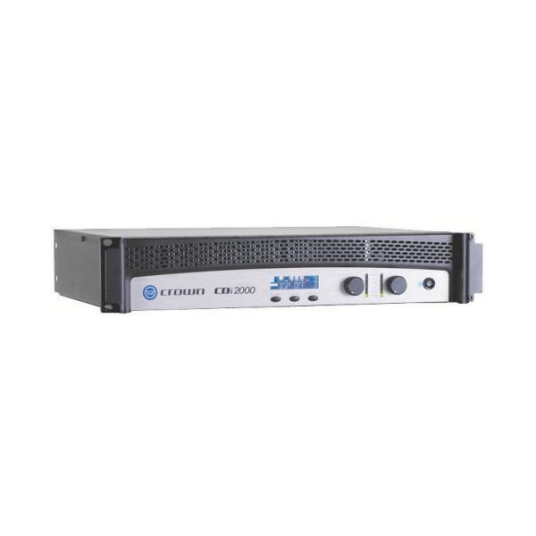 Crown CDi2000 Dual Channel 800W @ 4 ohms Power Amplifier