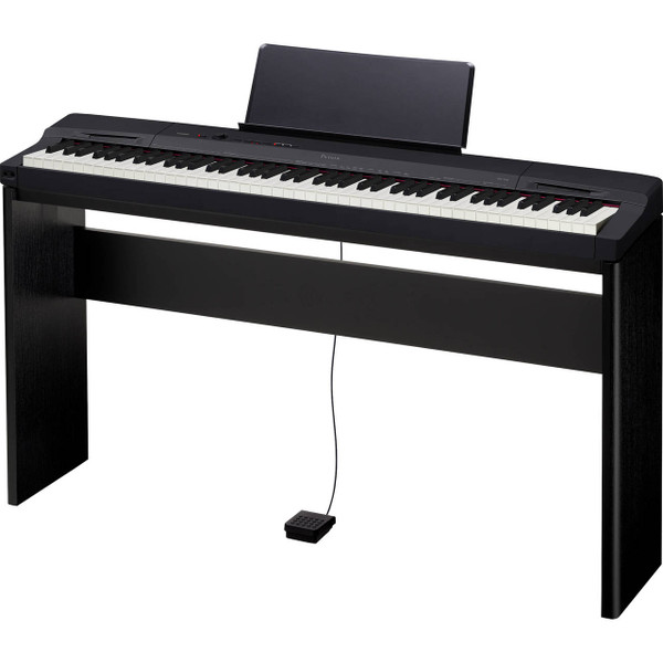 Casio Privia PX160BKCSU 88-Key Digital Piano with CS-67 Black Stand