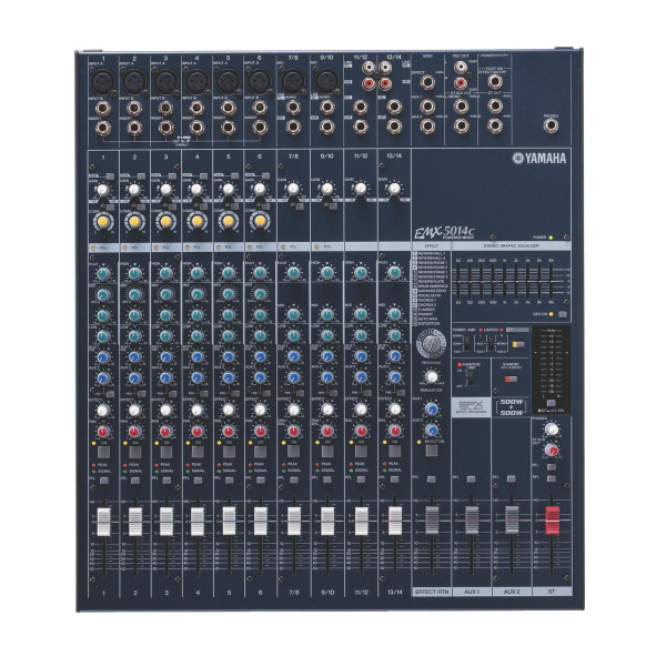 Yamaha EMX5014C Stereo Mixer, 14ch 500w @ 4ohms