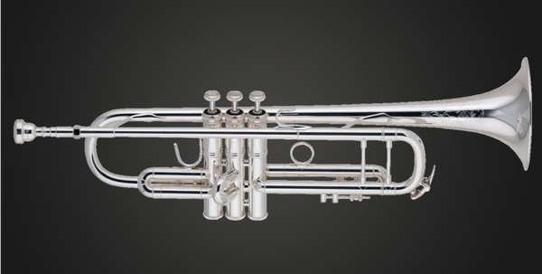 Bach 190S37 Stradivarius 50th anniversary silver professional trumpet