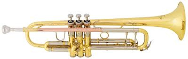 Bach TR500  standard trumpet (lacquer finish)
