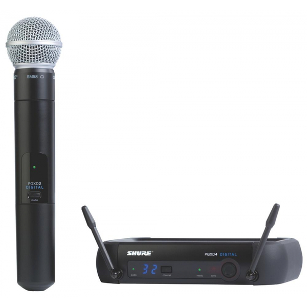 Shure PGXD24/SM58 Digital Wireless Handheld System with SM58 Capsule Shure PGXD24/SM58