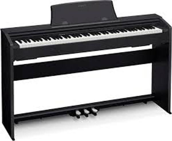 Casio PX770BK Privia 88 Key Digital Piano - Black