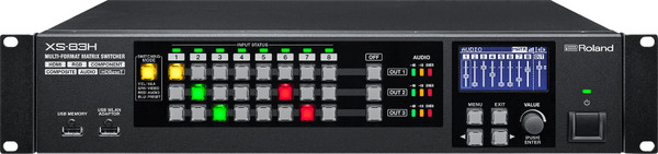 Roland 	XS83H AV Matrix Switcher