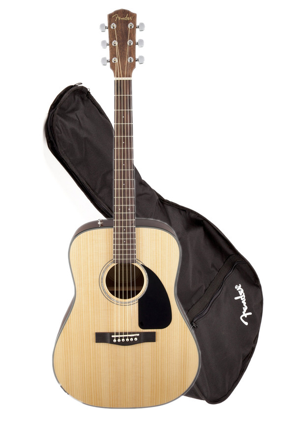 Fender DG8S Acoustic Pack	 Acoustic Guitar Pack with Bag and Accessories
