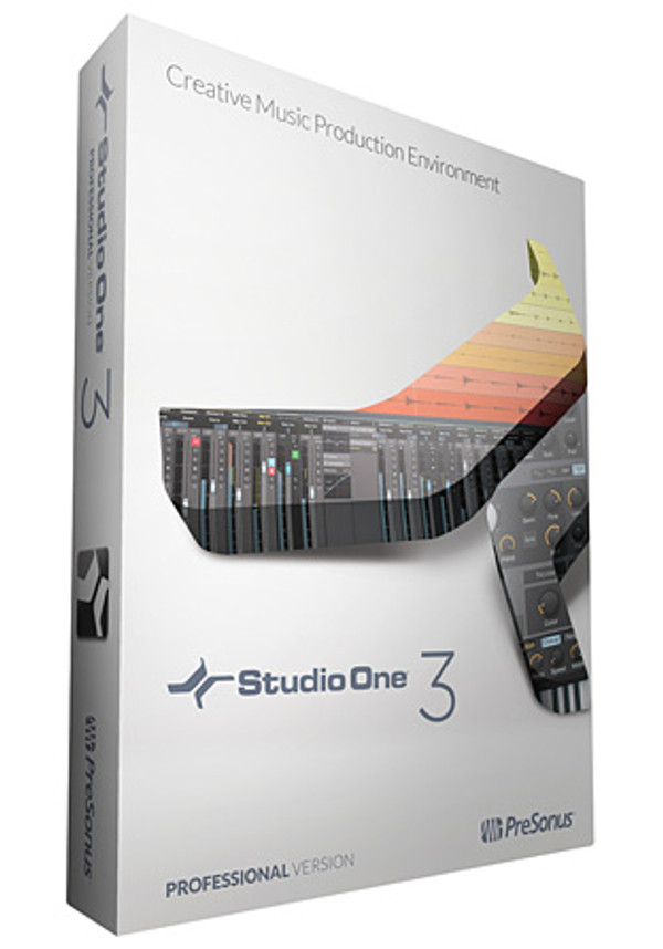 StudioOne® Professional 3 Retail Edition with Codes and USB Drive
