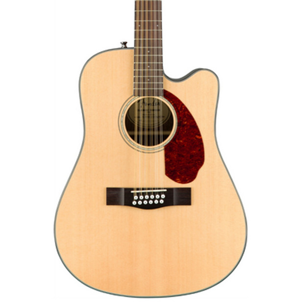 Fender CD140SCE 12-String Dreadnought Acoustic-Electric Guitar with Hardshell Case
