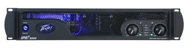 PeaveyIPR2 2000 530W Stereo Power Amplifier