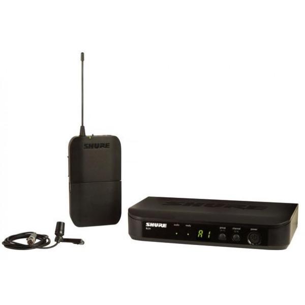 Shure BLX14/CVL wireless lavalier system