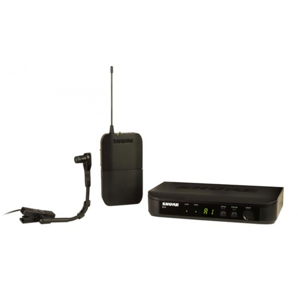 Shure BLX14/B98 Wireless Wind Instrument System with WB98H/C Microphone