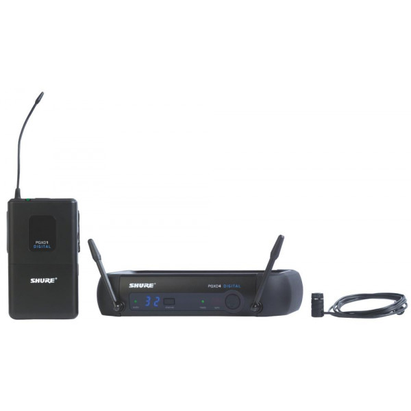Shure PGXD14/85 Digital Wireless Lavalier System with WL185 Lav (Cardioid)