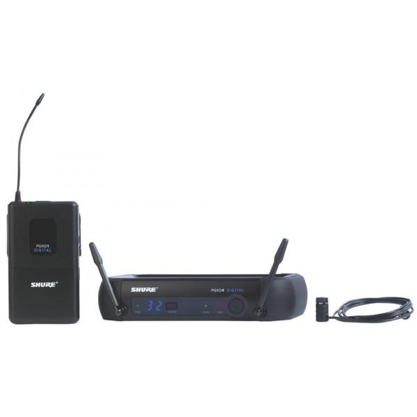 Shure PGXD14/85 Digital Wireless Lavalier System with WL185 Lav (Cardioid)
