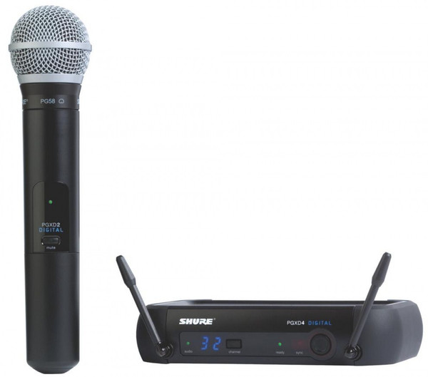 Shure PGXD24/PG58 wireless handheld vocal system