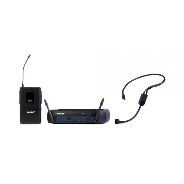 Shure PGXD14/PGA31 digital wireless headset system