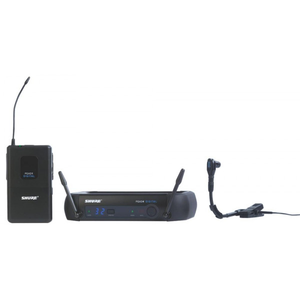 Shure PGXD14/BETA98H wireless instrument system