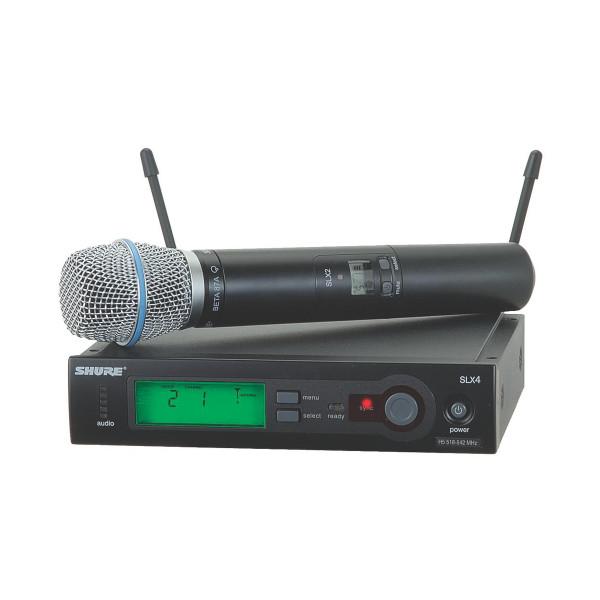 Shure SLX24/BETA87A wireless handheld system