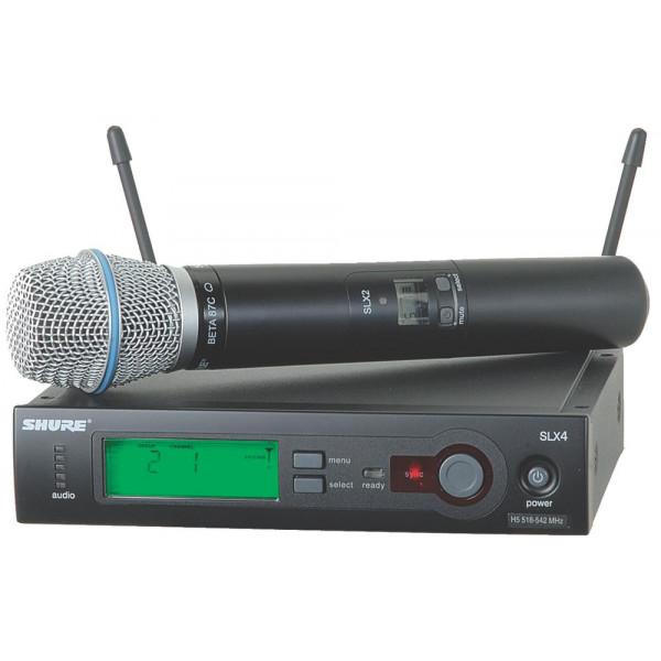 Shure SLX24/BETA87C wireless handheld system