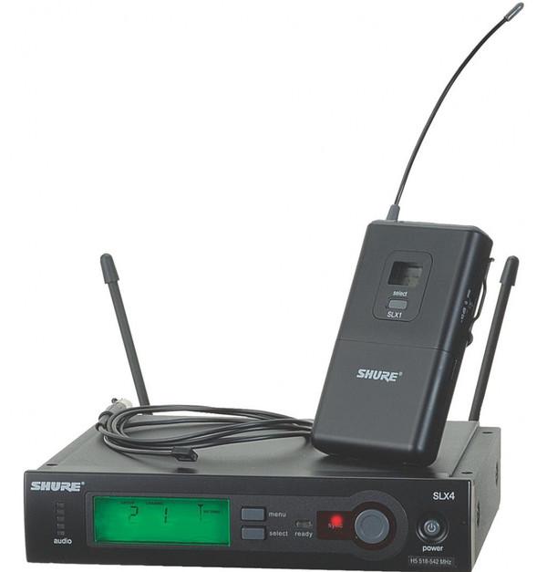 Shure SLX14/93 wireless lavalier system