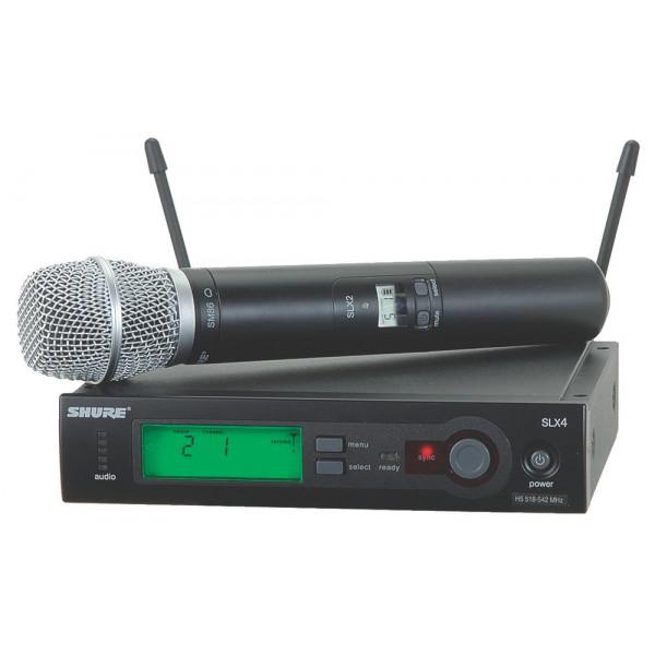 Shure SLX24/SM86 wireless handheld system