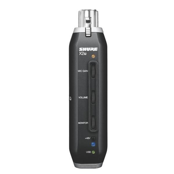 Shure X2U XLR-to-USB Signal Adaptor