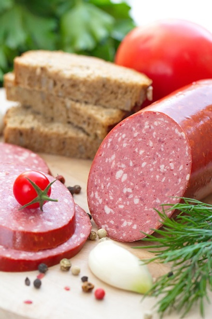 Summer Sausage from the Hermann Wurst Haus