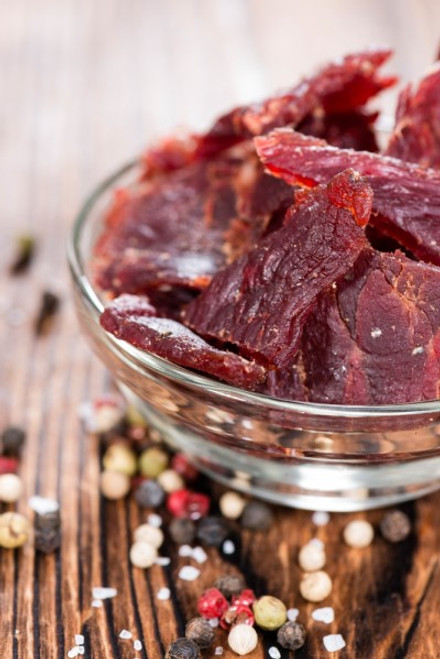 Smoked Peppered Jerky
