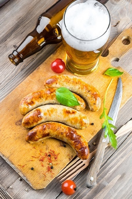 Beer-Flavored Bratwurst