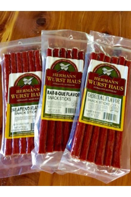 Hermann Wurst Haus Variety Snack Stick Pack