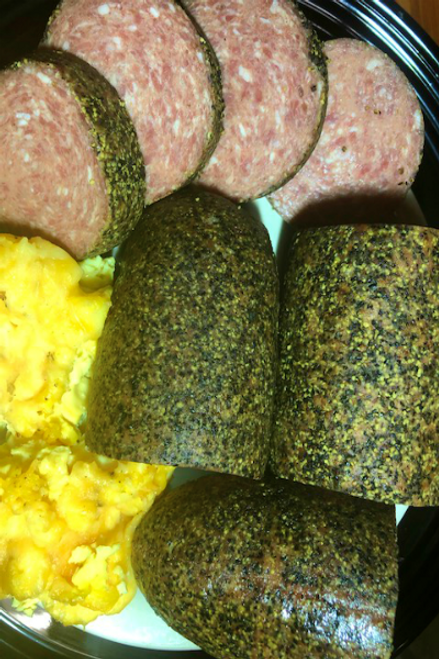 Hermann Wurst Haus Peppered Country Style Smoked Pork Sausage
