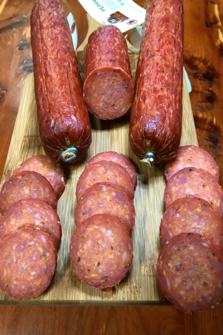Peppered Summer Sausage