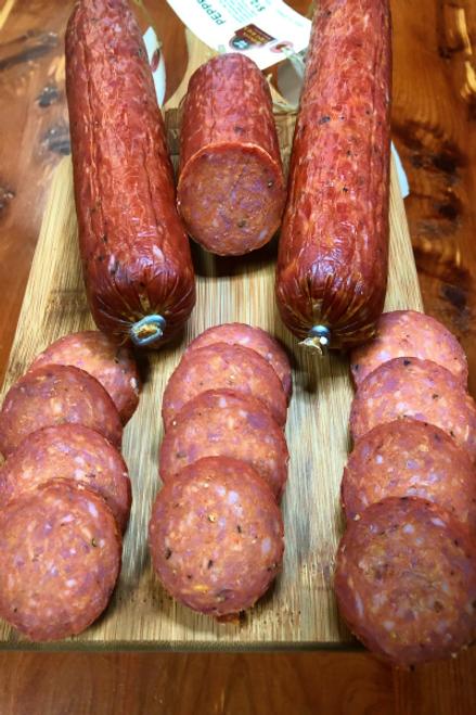 Peppered Summer Sausage
