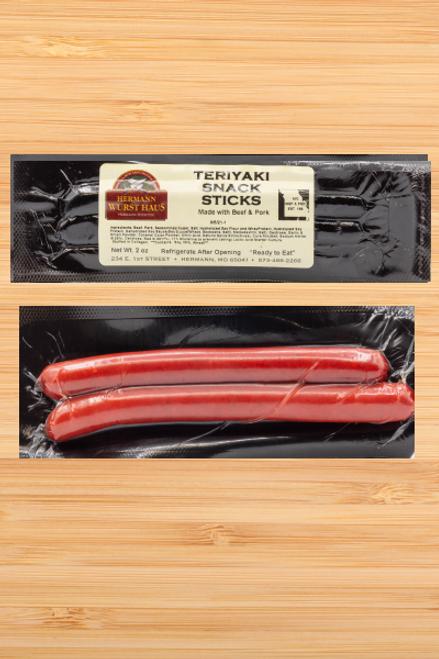 Snack Sticks Teriyaki Flavor
