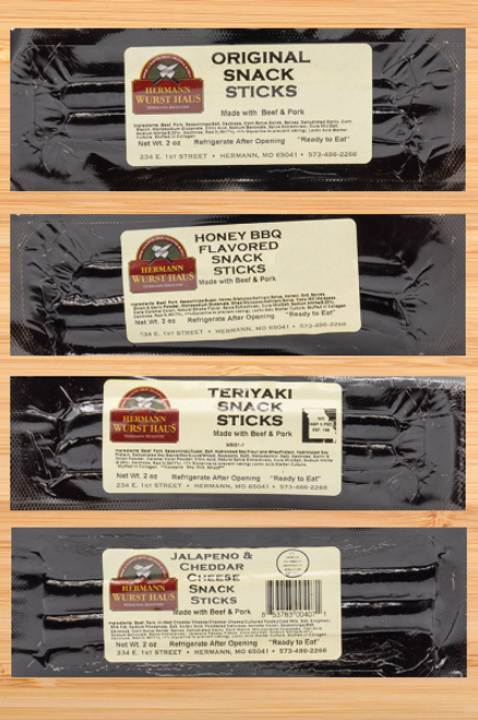 Snack Sticks -  Choice of 15 Packages