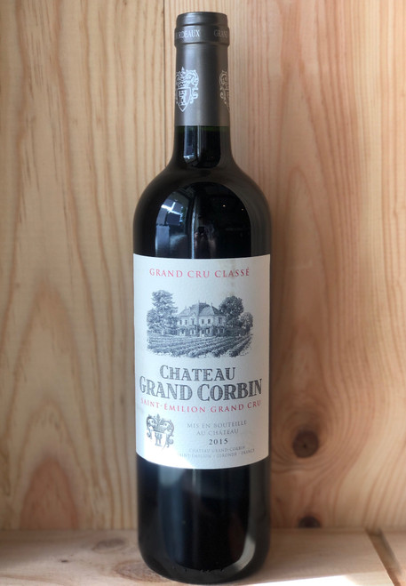 2015 Grand Corbin Saint-Emilion Grand Cru