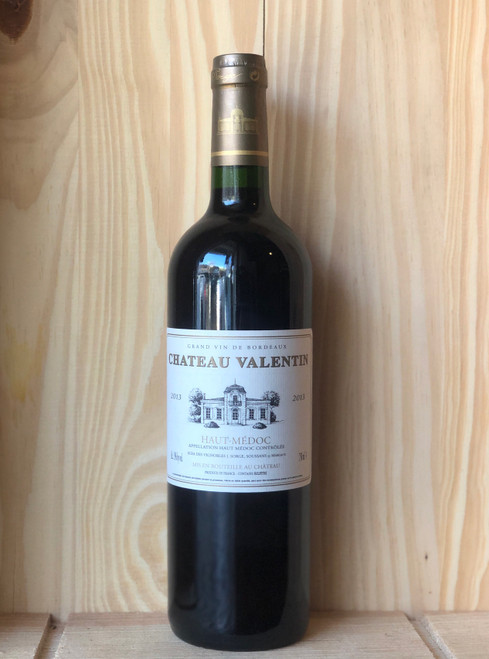 2013 Chateau Valentin Haut-Medoc (Normal Price $26.85)