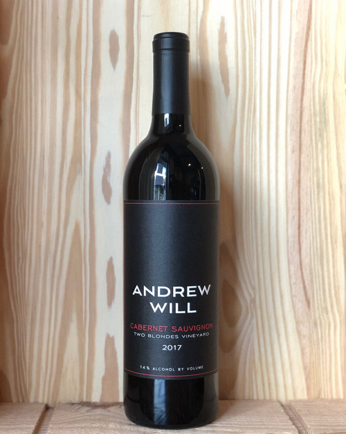 2017 Andrew Will Two Blondes Vineyard Cabernet Sauvignon