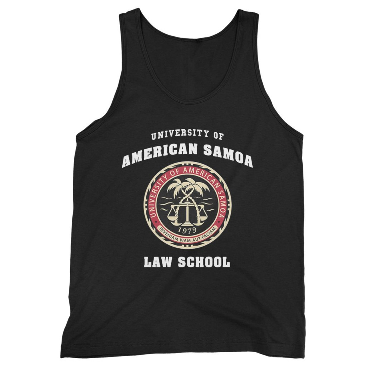University Of American Samoa Law School Men Tank Top This white ceramic mug holds 11 ounces of your favorite hot or cold beverage and is microwave and dishwasher safe. university of american samoa law school men tank top