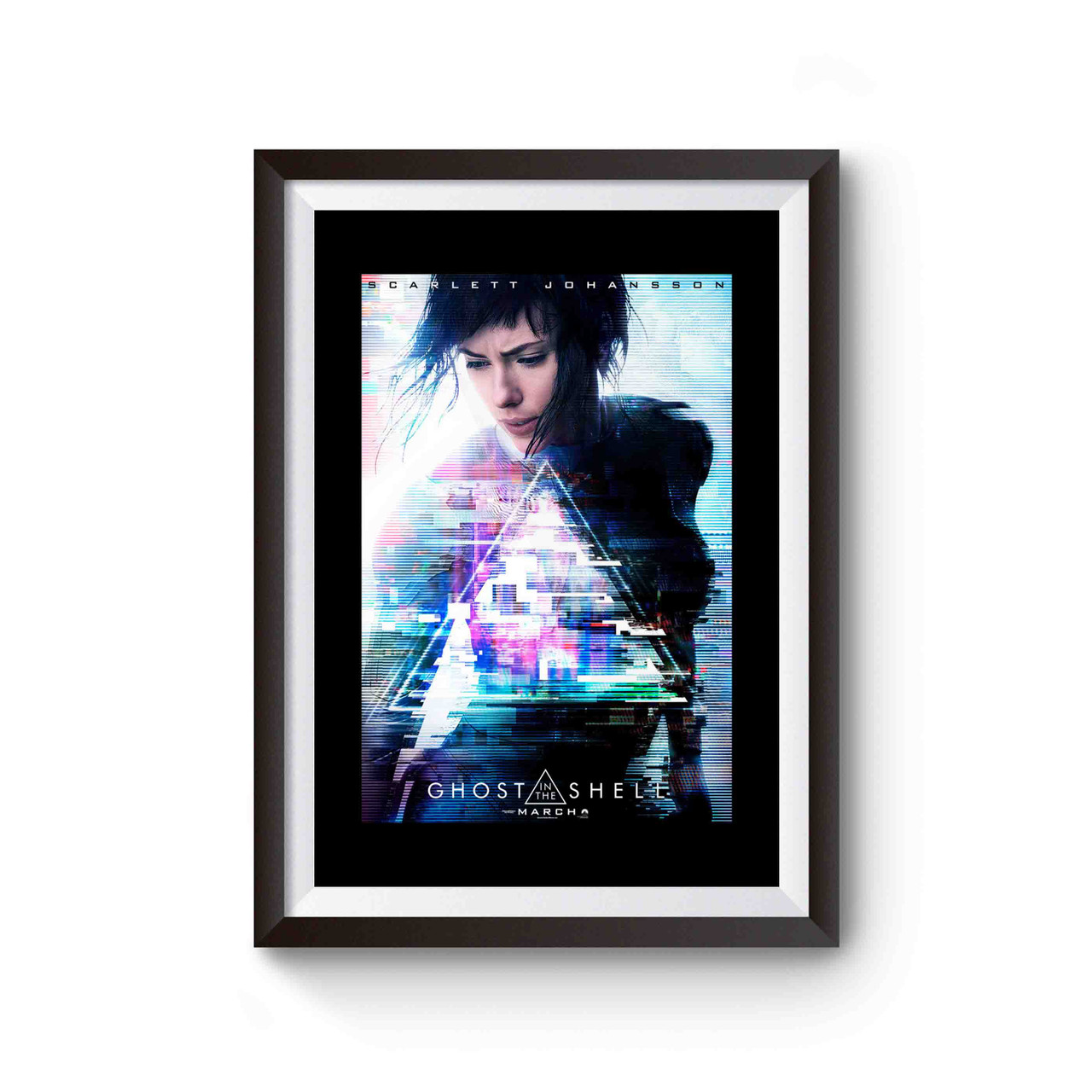 Ghost In The Shell Japan Anime Poster Movie Scarlett Johansson 5 Poster
